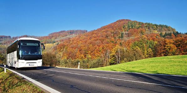 Bustourismus und Reisegruppen